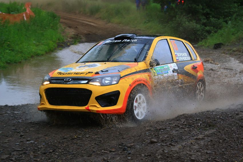 LADA Sport Rosneft rally